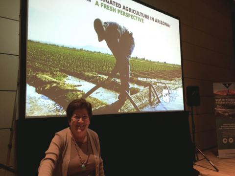 The University of Arizona WRRC Director Sharon Megdal
